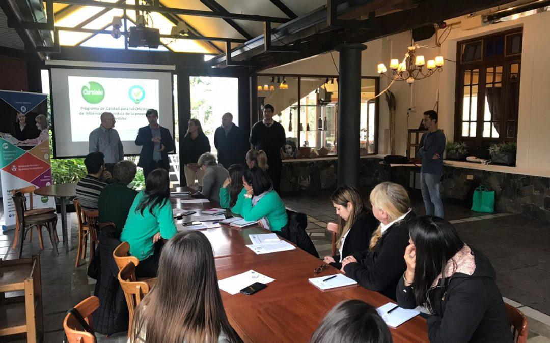 Presentación y Lanzamiento del Programa de Calidad para Oficinas de Información Turística