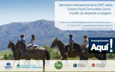 Seminario Internacional de la OMT sobre «Turismo Rural Comunitario como modelo de Desarrollo Endogeno»