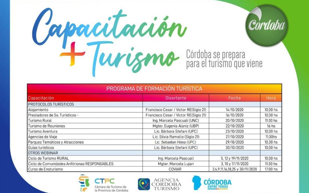 Capacitación + Turismo: prepararse para el turismo que viene